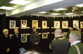 Выставка живописи и графики Алексея Каменского