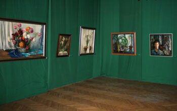 Выставка работ Масута Фаткулина Ностальгия в ЦДХ