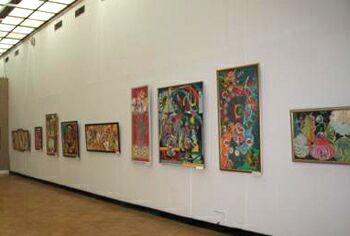 Выставка работ Алишера Мирзо Песня Ташкента в ЦДХ