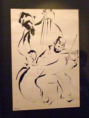 Выставка Григорий Ингер. Рисунки и эскизы в галерее На Ленивке