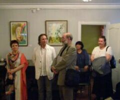 Презентация альбома Елены Щетинкиной в Театральной галерее на Малой Ордынке
