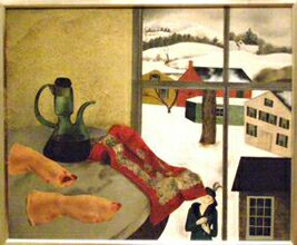 Выставка Американские художники из Российской империи в ГТГ. Питер Блюм. Поросячьи ножки в уксусе