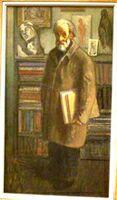 Выставка Американские художники из Российской империи в ГТГ. Мозес Сойер. Библиофил