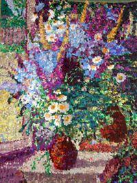 Лоскутные картины в московской галерее Беляево. Шевалдина