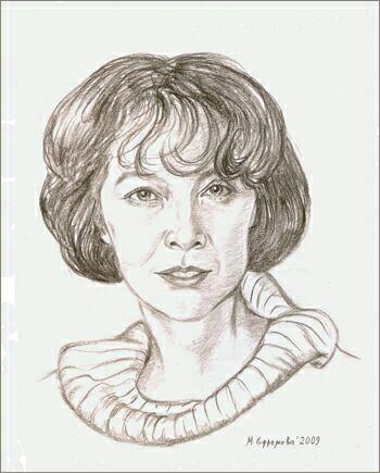 Лидия Скрябина. Рисунок Марины Ефремовой