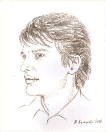 Сергей Назаров. Рисунок Марины Ефремовой