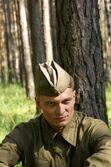 Актер Сергей Назаров на съемках. Фото из личного архива