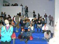 Фестиваль новой культуры в ЦДХ. Бывшая вентиляционная камера превратилась в роскошный танц-пол. Фото Николая Ефремова