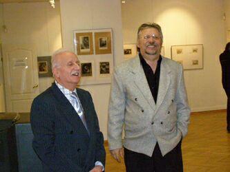 Выставочный зал Ходынка, выставка Клуба любителей графики