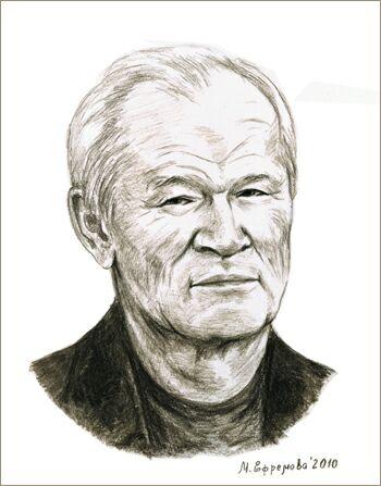 Масут Махмудович Фаткулин. Рисунок Марины Ефремовой