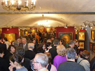 Выставка икон из собрания коллекционера В. А. Бондаренко - открытие. Фото Николая Ефремова