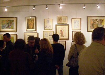 Выставка картин Владимира Стерлигова в ЦДХ - открытие. Фото Николая Ефремова