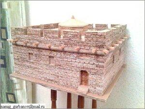 Намик Курбанов, Баку, Макеты зданий из картона: Мечеть