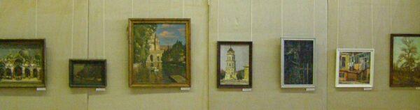 Выставка живописи Константина Антонова в ЦДХ