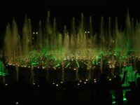 Ночь в музее - 2010. Москва, парк Царицыно (5)- светомузыкальный фонтан. Фото Николая Ефремова