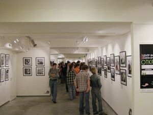 Ночь в музее - 2010. Москва, Центр фотографии имени братьев Люмьер (1) - в выставочных залах. Фото Николая Ефремова