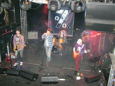 Презентация дебютного сингла Павла Майкова и его группы 7%. Фото Николая Ефремова