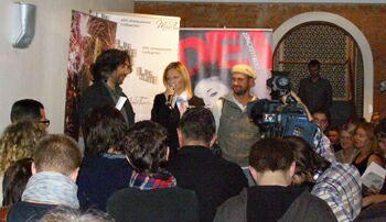 Фестиваль Linoleum-2010 - церемония награждения победителей. Фото Николая Ефремова