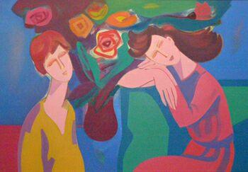 Выставка Ирины Мкртчян в галерее Колизей Арт
