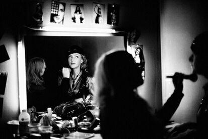 Актриса кино и телевидения, солистка Центрального военного оркестра Министерства обороны Российской Федерации, автор и исполнитель собственных песен Елена Пирогова-Филиппова. Фото - Анна Vampidor (из личного архива актрисы)