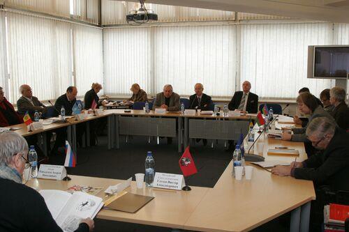 Заседание Совета Международной конфедерации союзов художников. Фото Михаила Виноградова