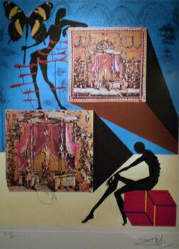Коллективное бессознательное: графика сюрреализма от Де Кирико до Магритта в Государственном историческом музее. Сальвадор Дали