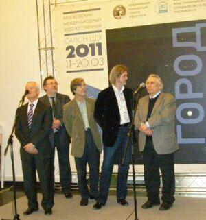 XIV Московский международный художественный салон ЦДХ-2011 - Открытие