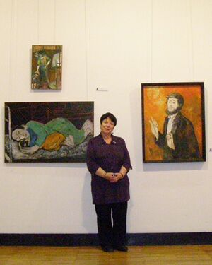 XIV Московский международный художественный салон ЦДХ-2011 - Этот загадочный 3-й этаж