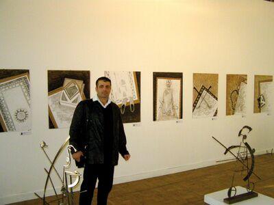 Далер Михтоджев и созданная им за несколько часов серия работ Молитва