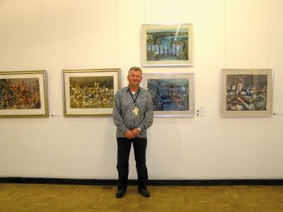 Борис Кузьма, Заслуженный художник Украины, Председатель Закарпатской организации Национального союза художников Украины
