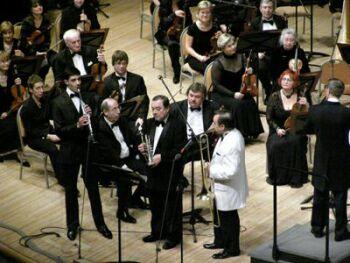 Концерт Центрального военного оркестра Министерства Обороны Российской Федерации в МДМ (3). Фото Николая Ефремова