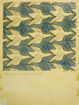 Литография М. К. Эшера