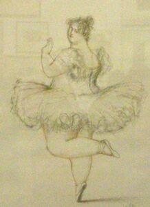 Алла Бедина, серия Балет больших, Грация, 2008 г.