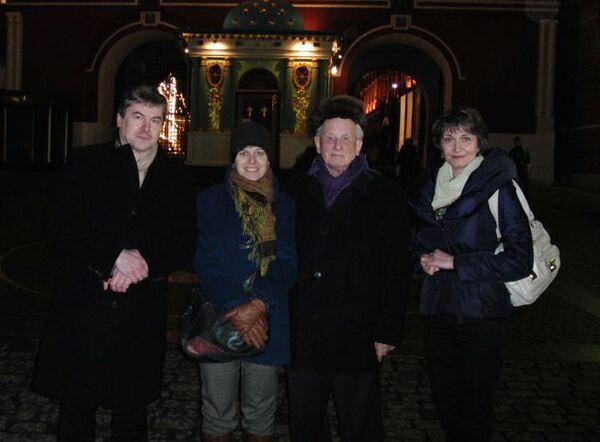 Москва, Красная площадь, нулевой киломер. Фото Николая Ефремова