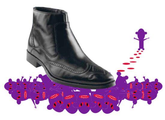 Осторожно: фиолетовые мутанты